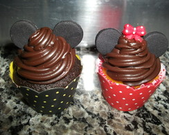 Cup cakes Mickey e Minnie