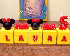 Cubos Minnie Laura