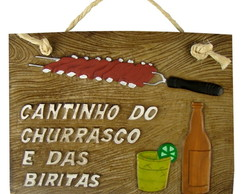 CANTINHO DO CHURRASCO BIRITAS-28 X 19,5