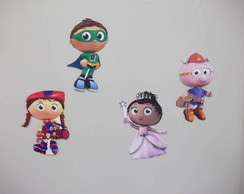 aplique suspenso super why