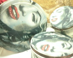 Latas Decoradas Marilyn Monroe