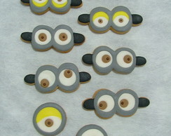 Biscoito Decorado - Minion