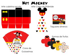 Kit de Artes Mickey