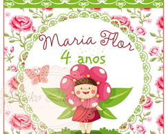 Kit digital Maria Flor