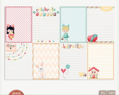 Kit Digital Happy Easter Journal Cards
