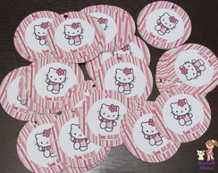 Tag redonda Hello Kitty