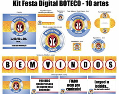 Kit Festa Digital Boteco - Antarctica