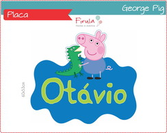 Placa Digital George Pig