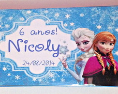 Estojo de Colorir Frozen