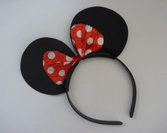 Tiara Orelha Minnie Mickey