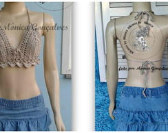 CROPPED TOP CROCHÊ