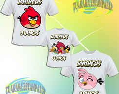 Kit Camiseta - Angry Birds