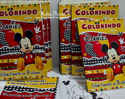 Revista Colorir Mickey Mouse