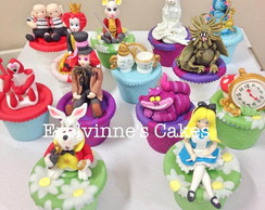 Cupcakes Decorados no tema