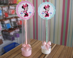 Tubete Decorado tema Minnie.