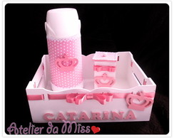 Kit higiene Mdf princesa