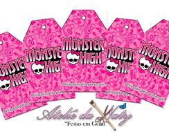 Tag's Personalizados - Monster High