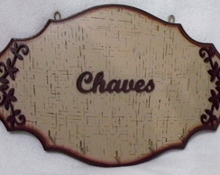 Porta Chaves Arabescos
