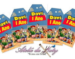 Tag's Personalizados - Toy Story