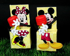 Porta Tubete Mickey e Minnie
