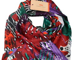 Scarf Nature Red