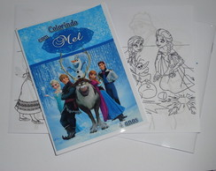Revistinha de Colorir 10x15 Frozen