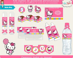 Kit guloseimas digital Hello Kitty
