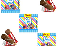 Rotulo Chocolate Baton Backyardigans