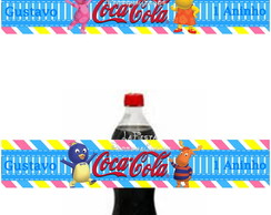 Rótulo Coca Cola Backyardigans