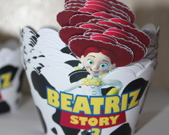 wrapper cupcake Toy Story