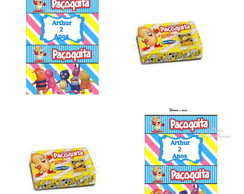 Rotulo Paçoquita Backyardigans