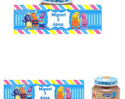 Rotulo Potinho Nestle Backyardigans