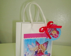 Sacolinha Personalizada Barbie Butterfly