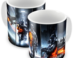 Caneca Battlefield 4 - War Face