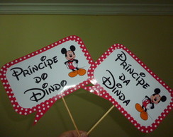 Placas divertidas MICKEY MOUSE MOD 02