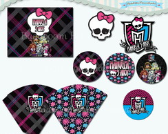 Kit Festa Monster High (arte)