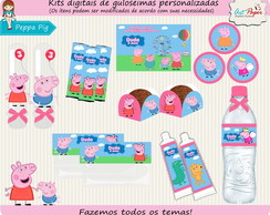 Kit de guloseimas Peppa Pig Digital