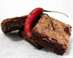+Brownies Chocolate com Pimenta