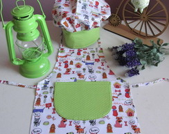 Kit Mini Chef Infantil Cachorro