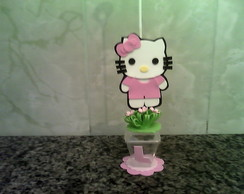 Centrinho Hello Kitty rosa