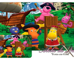 Jogo Americano - The Backyardigans