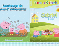 Revistinha de colorir George Pig
