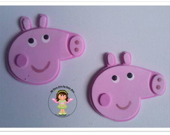 Mini Aplique Peppa