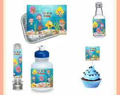 Kit Festa Bubble Guppies 100 Unidades