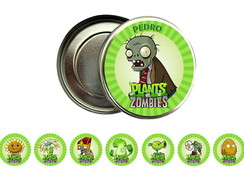 Latinha 5x1 Plants vs zombies
