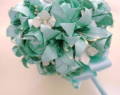 Bouquet de noivas Azul Tiffany