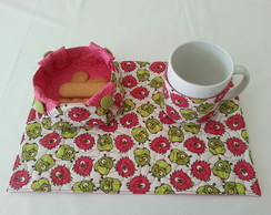 Kit lanchinho ::: Mug Rug