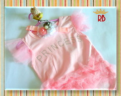 Conjunto Princesa Body & Headband