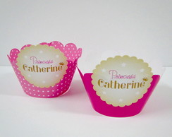 Wrapper de Cupcake Princesa