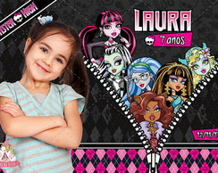 Monster High - Ímã Com Foto